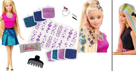 design doll code coupons and freebies barbie glitter hair design doll 5