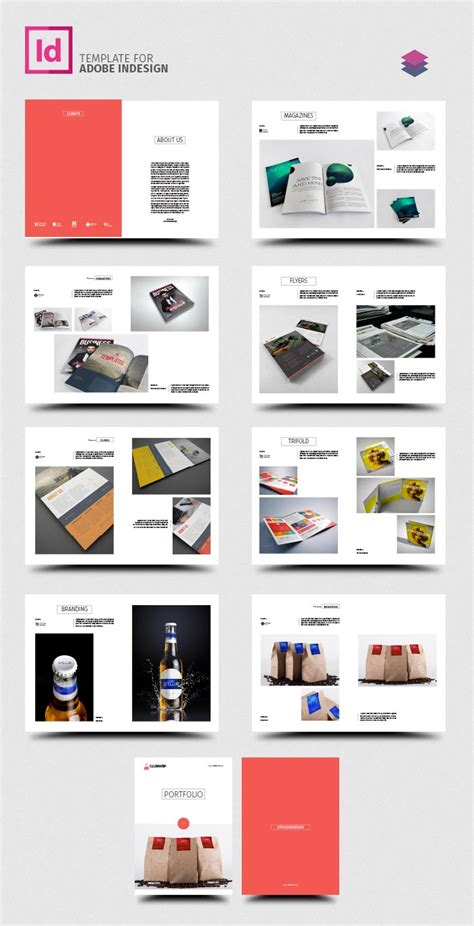 product layout catalog clean product catalog stockindesign