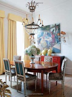 eclectic dining room chairs mix of chairs in the dining 1000 images about animal print dining room on pinterest