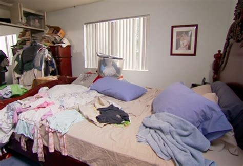 cluttered bedroom before and after no room for intimacy