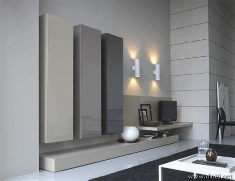 arredo in san lucido soggiorno in laccato lucido in 4 tonalit 224 di grigio