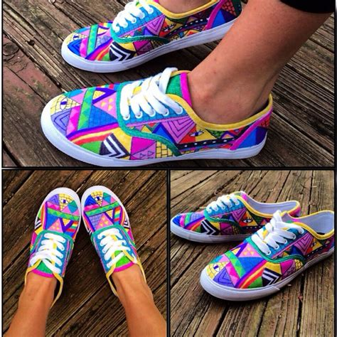 diy shoe designs 86 best colorful vans images on diy