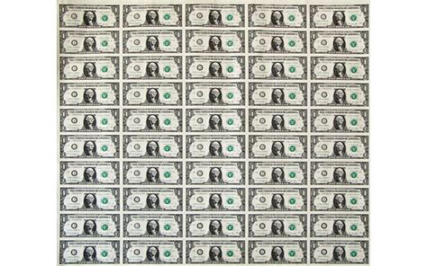 printable paper money new configuration of notes printed on 50 subject sheets