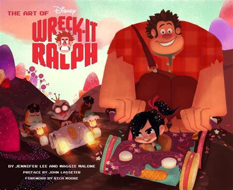 awn books book review the art of wreck it ralph animation world