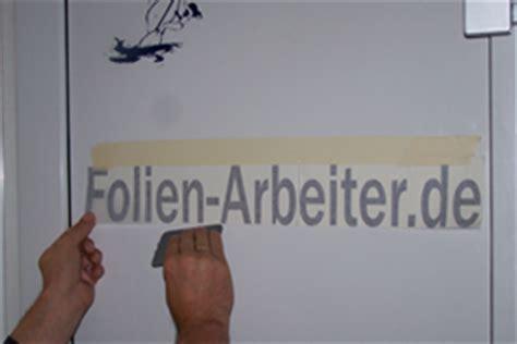Folie Kleben Ohne Luftblasen by Klebeanleitung F 252 R Folienschriften