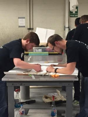 siue engineering students win asce geowall competition