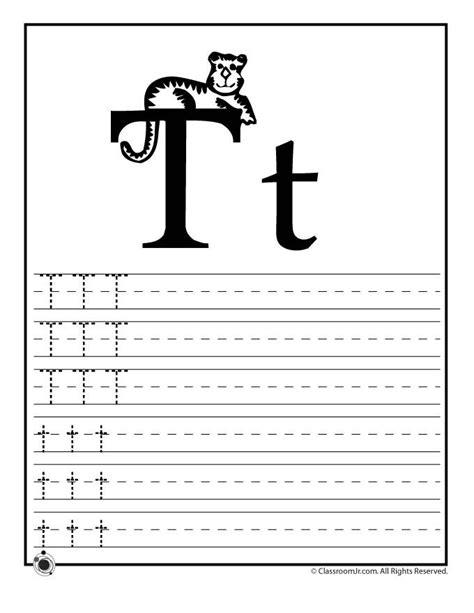 kindergarten activities letter t 15 best images of for the letter t handwriting practice