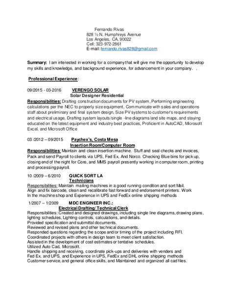 thank you for taking the time to review my resume fernando resume and cover letter doug cason s