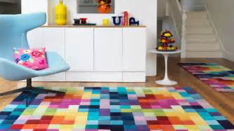 colorful area rugs 15 funky and colorful area rugs home design lover