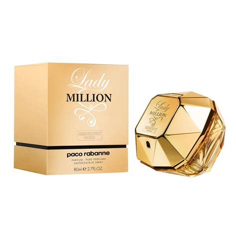 Parfum Million paco rabanne million absolutely gold eau de parfum 80ml