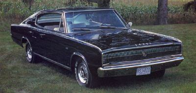 1966 dodge charger 426 hemi: a profile of a muscle car