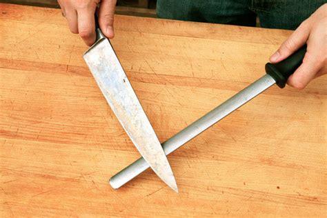 honing kitchen knives honing steel sheer nonsense