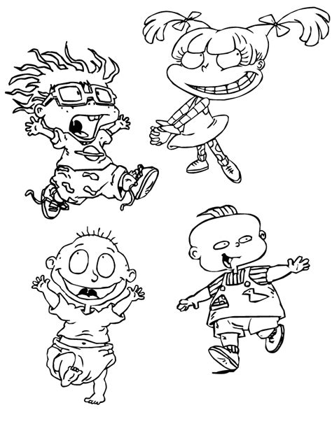 Nickelodeon Coloring Pages To Print Coloring Home Nickelodeon Coloring Pages To Print