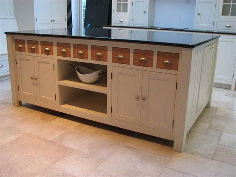 portland stone small kitchen island unit how to build build your own kitchen island ideas pdf plans