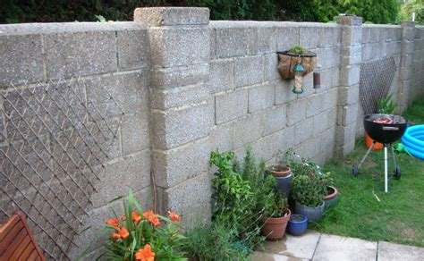 Exterior Render Garden Wall Plastering Job In Garden Wall Render