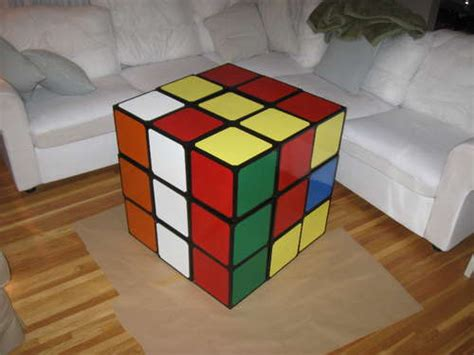 rubix cube coffee table rubik s cube coffee table make
