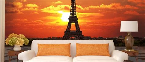 eiffel tower wallpaper for bedroom the eiffel tower wall murals and photo wallpapers paris