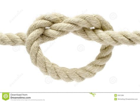 Easy Knots - simple knot royalty free stock photos image 2321298