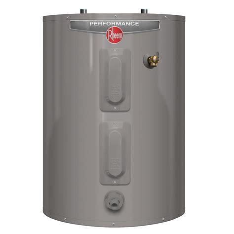 Rheem Performance 30 Gal. Short 6 Year 4500/4500 Watt Elements Electric Tank Water Heater