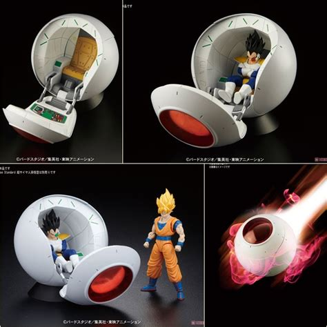 Figure Rise Mechanics Saiyan Space Pod figure rise mechanics saiyan space pod by bandai nz gundam store
