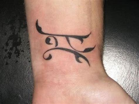 photos of tattoos 54 zodiac sign wrist tattoos