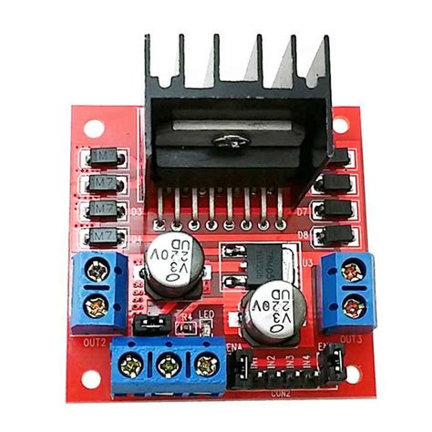 Kr09037 Doubleshoot L298n Motor Driver 2a 5v 35v Dc l298n 2a based motor driver module quality robu in indian store rc hobby
