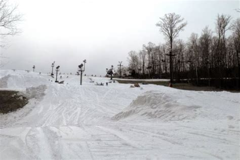 Paoli Peaks Cabins by Winter Weather Means Early Open For Paoli Peaks Indiana Vending Company