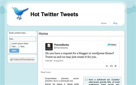 twitter tweet template choice image templates design ideas