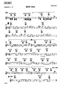 Smooth Jazz piano sheet-music, lead sheets