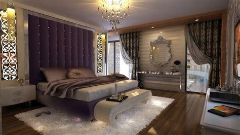 luxury master bedroom design ideas three shelves tv stand