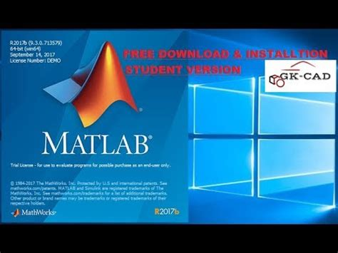 matlab r2017b free download and installation youtube