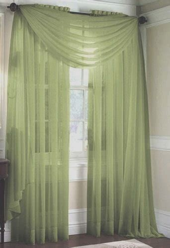 sage sheer curtains luxurydiscounts 2 piece solid sage green elegant sheer