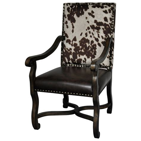 Faux Cowhide Furniture - crestview collection accent furniture cvfzr1791 mesquite