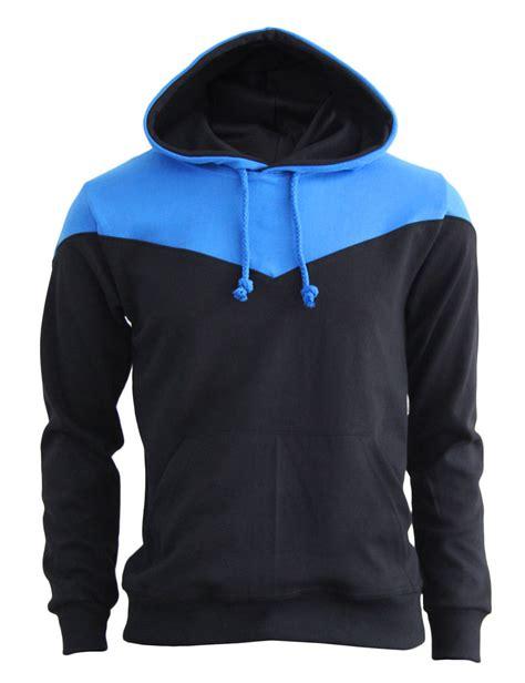 Hoodie Blue black and blue hoodie tulips clothing