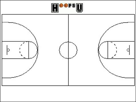 basketball court diagram best photos of printable basketball template free