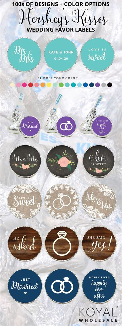 Diy Labels For Wedding Favors