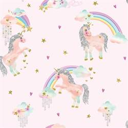 Animal Print Wallpaper For Bedroom arthouse imagine rainbow unicorn wallpaper 696108 pink