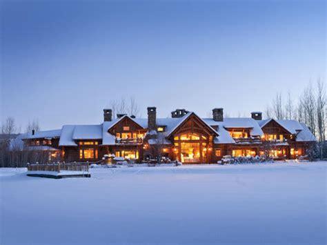 Living In A Winter Wonderland 10 Incredible Ski Mansions