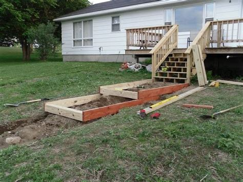 Diy Patio Steps by How To Build Steps On A Slope Hometalk