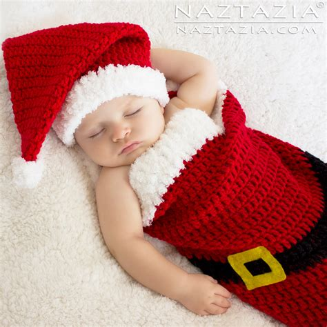red santa sack for babies pictures baby santa hat and cocoon bunting by donna wolfe from naztazia