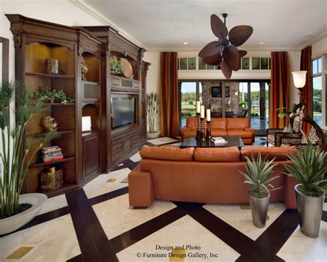 florida living rooms street of dreams lake mary florida tropical living