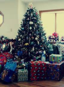 gifts around the christmas tree pictures photos and