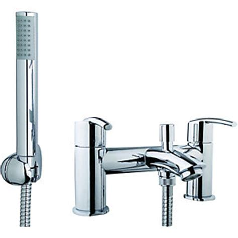 wickes shower bath wickes versaille bath shower mixer chrome