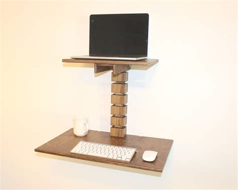 wall mounted standing desk wall mounted standing desk the awesomer