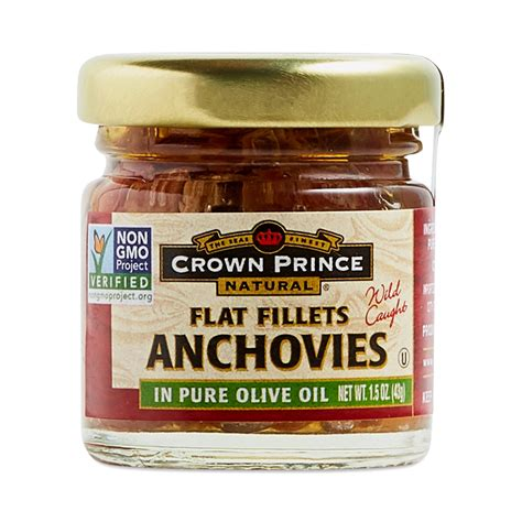 Anchovy Fillet In 700gr Anchovies 1 crown prince anchovy fillets thrive market