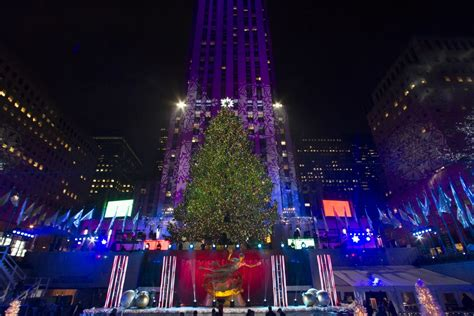 Watch 2014 Rockefeller Center Christmas Tree Lighting Lighting Nyc 2014