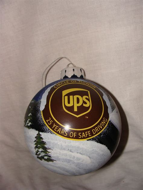united parcel service ups circle of honor chrstmas