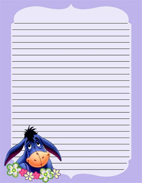 winnie the pooh writing paper 506 best eeyore images on eeyore pooh