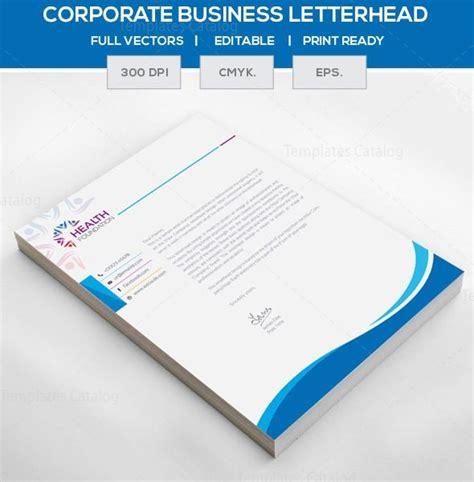 eps format letterhead designs eps corporate letterhead template 000105 template catalog