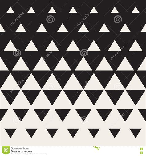 triangle halftone pattern vector seamless triangle halftone gradient pattern stock
